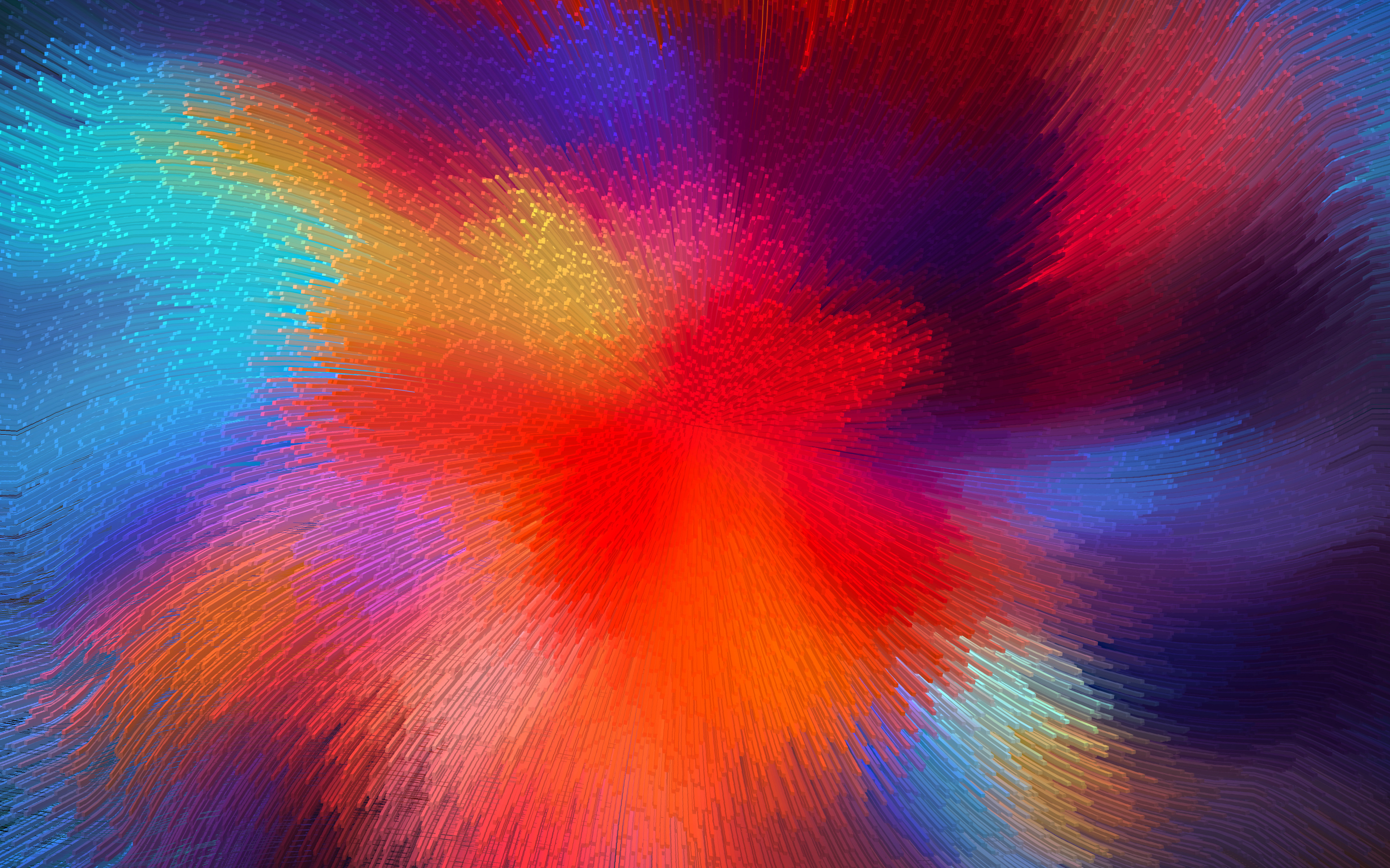 Photo of Wallpaper 4K «Abstract Color»