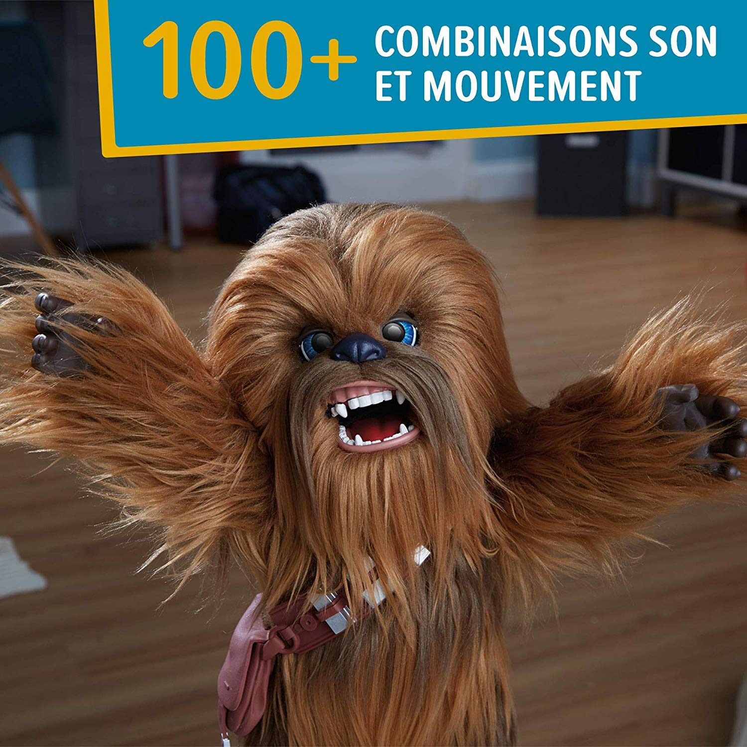 Photo of Bon Plan Amazon — Peluche Chewie à seulement 34,95€ (au lieu de 129,99€)