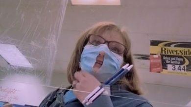 Photo of Cette Américaine fait un trou dans son masque «pour pouvoir mieux respirer»